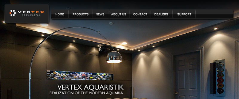 Vertex Aquaristik Home Page