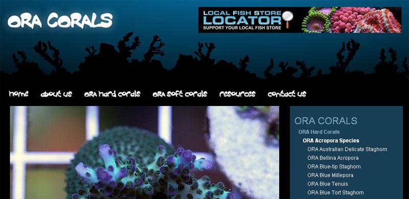 ora-corals-home-page