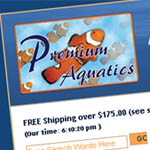 Premium Aquatics puts up a new website