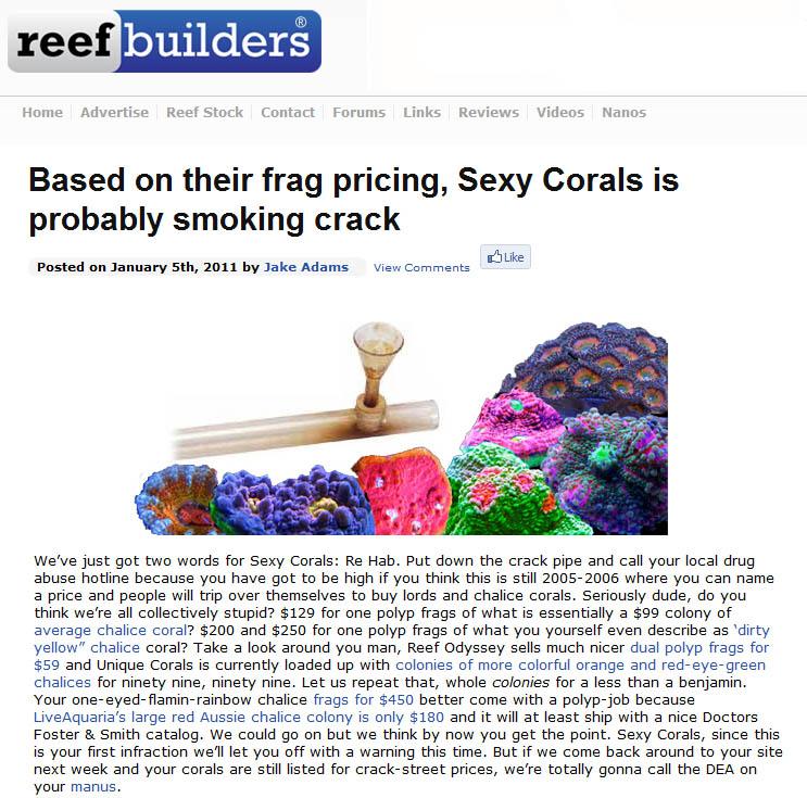Reef Builders: Reef Aquarium, Reef Tank, Reef Product