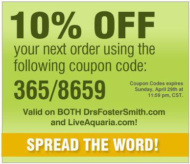Dr fosters and smith coupon code